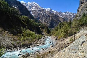 Annapurna Circuit - Day 4 - River by LLukeBE