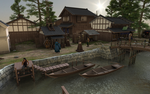 Japanese Town by MadamGoth