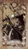 tarot_the chariot by Nuttirius