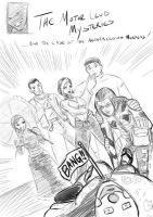 Motor Club Mysteries Sketch by ZhaxRa