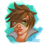 Tracer Bust by NightsJester