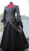 1873 costumes front view by debellespoupees