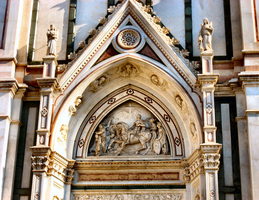 Church of Santa Croce, Florence--detail by JJPoatree