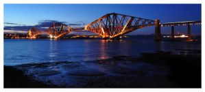 crossing the Forth by Chris-Brown