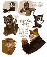 Inglourious Cats by radu-rotten