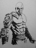 Kratos - God of War by MikimusPrime