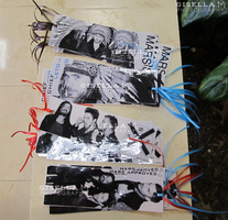 Echelon Bookmarks Close Up by gisellam