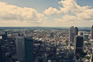 Frankfurt city by m00v