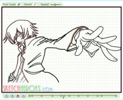 How to draw Lelouch Part 2 by SketchHeroes