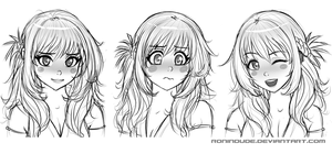 Expression Practice 5-5-14 by RoninDude