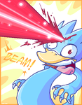 Golduck BEAM by vaporotem