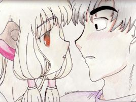Chii and Hideki by SmilyFacedGurl