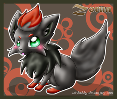 Zorua by Isi-Daddy