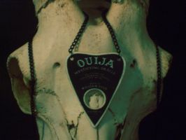 Ouija Necklace by UrsulaDecay