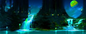 RECOLOURED HYDRO PLANT by nelson808