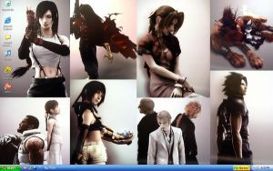 Final Fantasy VII Wallpaper by minako55nz