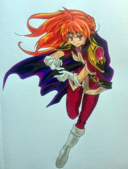 Lina Inverse with color by ayumeg