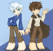 Jack Frost and Jackson Overland by KT-ExReplica