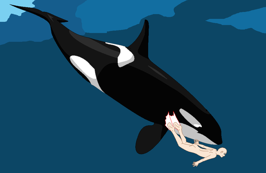 Orca and Girl Swimming Base by TFAfangirl14