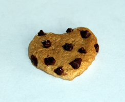 Polymer Clay Chocolate Chip Cookies by ClayNoob