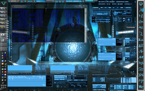 Stargate Atlantis Desktop by Deathonater