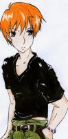 Kyo Sohma_Fruits Basket by Oilbhe