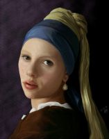 Girl with pearl earring by Sassis