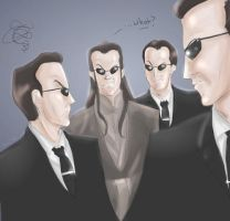 Agent Elrond by Ammosart