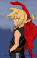 Edward Elric Colored by pinkandblackcat