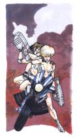 Dirty Pair by AaronKuder
