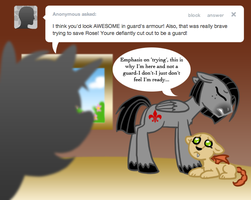 Ask Valier Emphasis on Trying by The-Clockwork-Crow