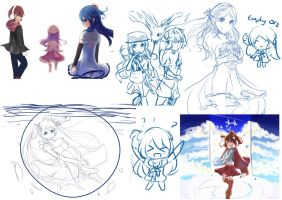 Sketch Dump by Himechui