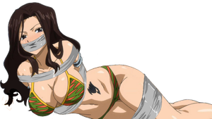 Cana Alberona Tied Up & Gagged by songokussjsannin8000
