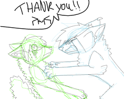 Thank you (sketch) by smerup100
