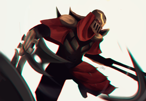 Zed again by RoseMariye