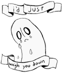 napstablook is the best character by Invader-Zin