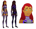Young Justice: STARFIRE by thepyve