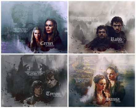 Game of Thrones - Chapters by Sweet-Paris