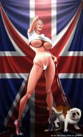 Marie-Claude Bourbonnais 2012 London Olympics by artofjaguar