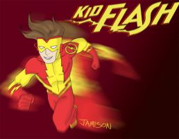 Kid Flash by DaJam22