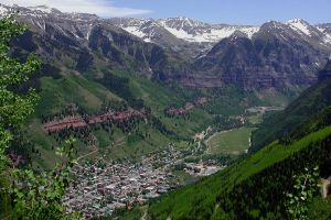 Overlooking Telluride by dsiegel