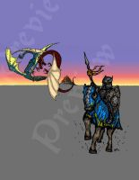 Fantasy Stock Art for Sale -Rides Out by billiambabble