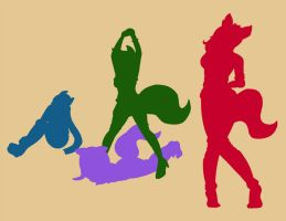 A Cat, A Crab, A Fox and A Wolf Walk Into A Tomb by Ankhrono