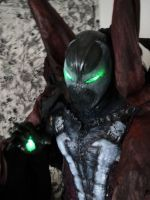 MY NEARLY COMPLETED SPAWN COSPLAY by symbiote-x