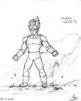 Majin Vegeta by toonager