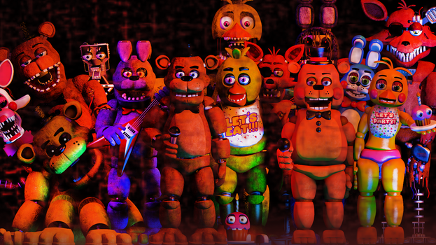 |C4D|FNAF|Thanks You !| by TheFoxGamerOfficial2