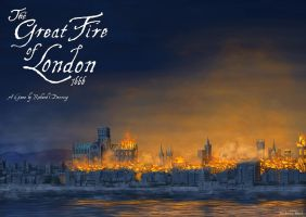 The Great Fire of London 1666 by AndreasResch