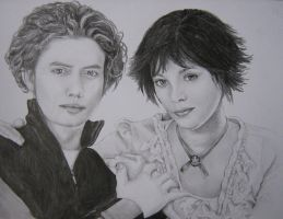 Alice and Jasper by poppemieke