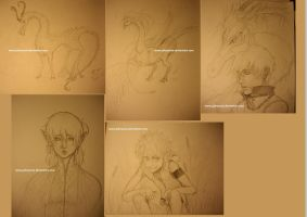 Sketch Dump jan 2013 by JohnYume
