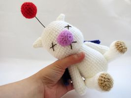 Amigurumi Final Fantasy X Moogle Doll 4 by MevvSan